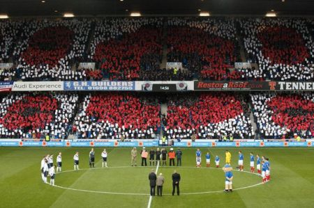 Ibrox Remembrance Day